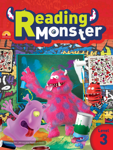 Reading Monster 3 Student's Book with Audio CD