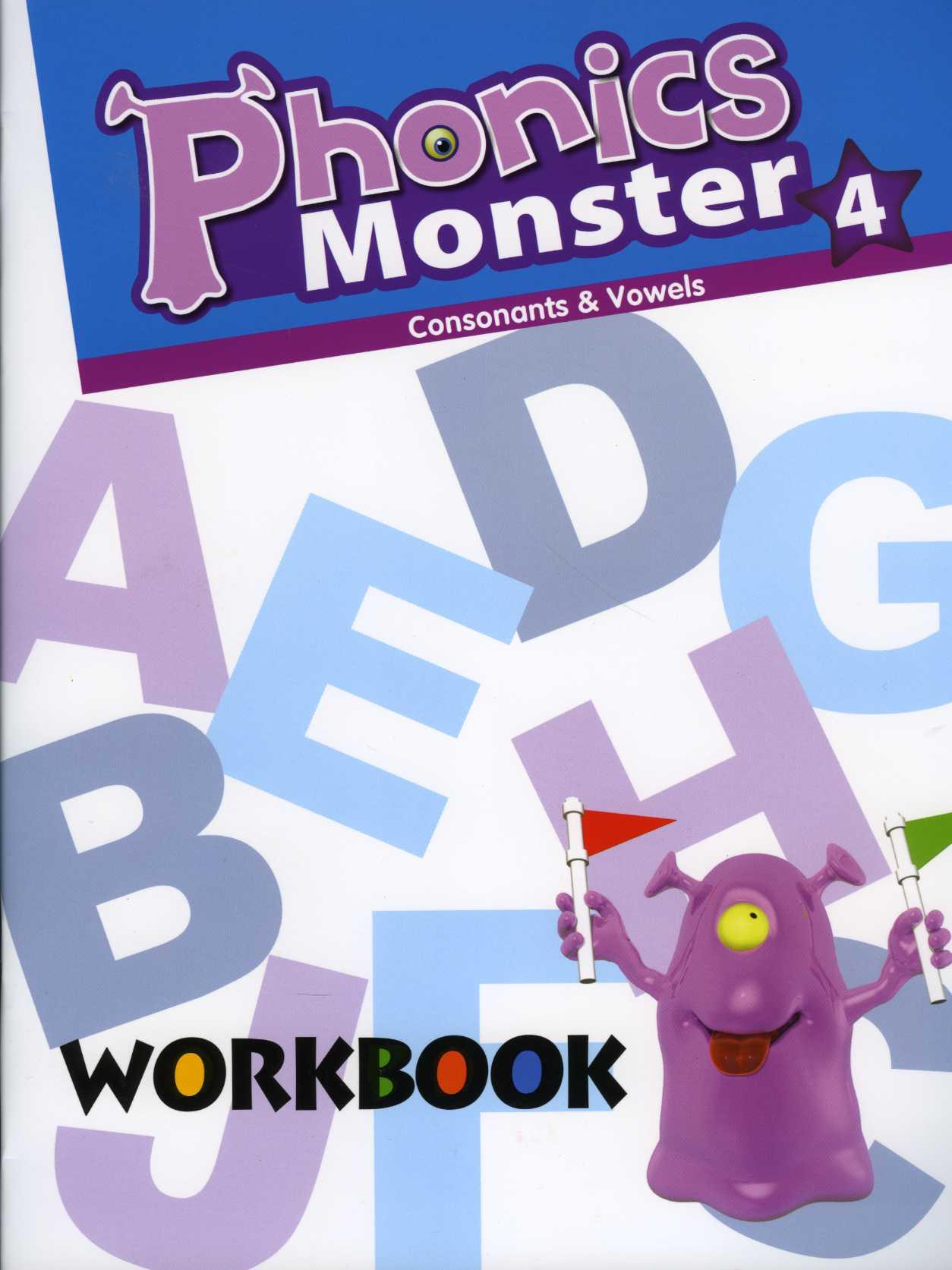 Phonics Monster 4 Workbook