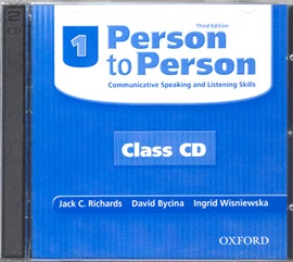 Person To Person 1 Class CD [3rd Edition]