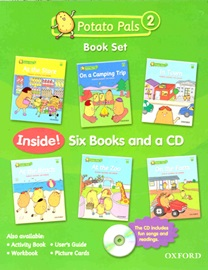 Potato Pals 2 Book Set (With CD)