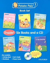 Potato Pals 1 Book Set with CD