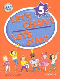 Let's Chant Let's Sing 5 Pack [ Student's Book + Audio CD ]