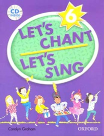 Let's Chant Let's Sing 6 Pack [ Student's Book + Audio CD ]