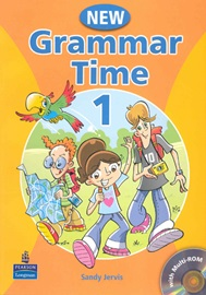 New Grammar Time 1 Student's Book with CD-Rom
