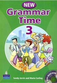 New Grammar Time 3 Student's Book with CD-Rom