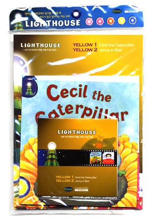 [행사]Lighthouse Yellow (Pack):Cecil The Ca/Jenny In Bed