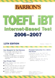 Barron's TOEFL IBT [12th Edition]