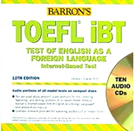 Barron's TOEFL IBT Audio CD [12th Edition]
