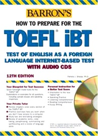 Barron's TOEFL IBT With Audio CD [12th Edition]