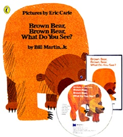 노부영 Brown Bear, Brown Bear, What Do You See? (Book+CD)