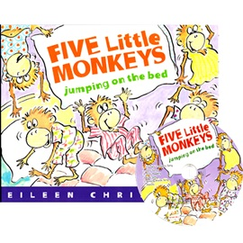 노부영 Five Little Monkeys Jumping On The Bed (Paperbook+CD)