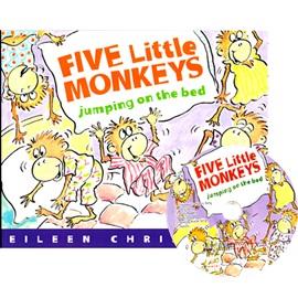 노부영 Five Little Monkeys Jumping On The Bed (Paperbook+CD)
