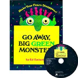 노부영 Go Away Big Green Monster! (book+CD)