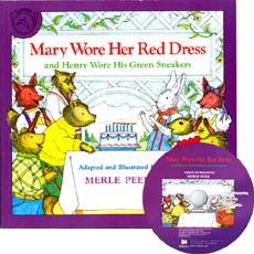 노부영 Mary Wore Her Red Dress (Paperbook+CD)