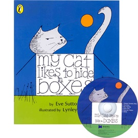 노부영 My Cat Likes To Hide In Boxes (Paperback+CD)