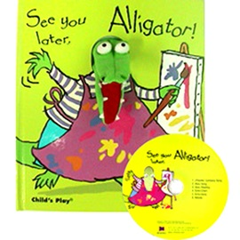 노부영 See You Later, Alligator! (Hardcoverbook+CD)