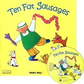 노부영 Ten Fat Sausages (Paperback+CD)