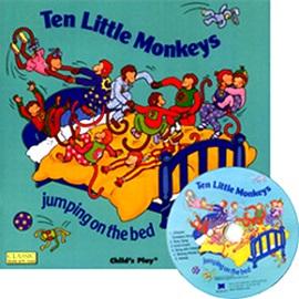 노부영 Ten Little Monkeys Jumping On The Bed (Paperback+CD)
