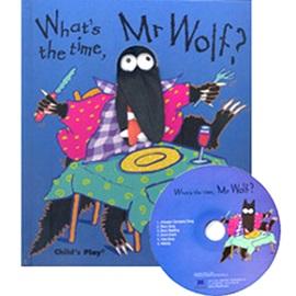 노부영 What's The Time, Mr Wolf? (Hardcoverbook+CD)