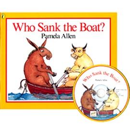노부영 Who Sank The Boat? (Paperbook+CD)