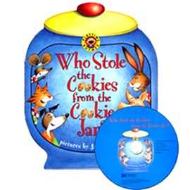 노부영 Who Stole The Cookies From The Cookie Jar? (Bordbook+CD)