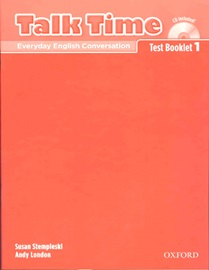 Talk Time 1 Test Booklet with CD