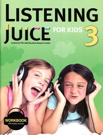Listening Juice For Kids 3 Workbook