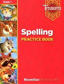 Treasures 1 Spelling Practice Book