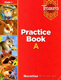 Treasures Approaching 1 Practice Book
