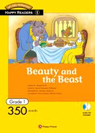 Happy Readers 1-1 Beauty and the Beast (Book+CD)