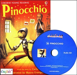 Usborne Young Reading 2-16 Pinocchio (Book+CD)