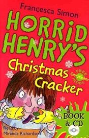 Horrid Henry's Christmas Cracker (Book+Audio CD)