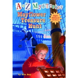 A To Z Mysteries Mayflower Treasure Hunt (Super Edition 2)