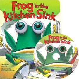 노부영 Frog in the Kitchen Sink (Hardcoverbook+CD)