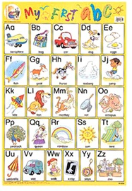 Wallchart My First abc