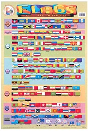 Wallchart Flags of the World