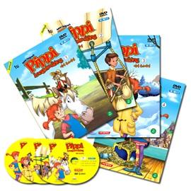 [코믹 DVD] Pippi Long Stocking 삐삐 롱스타킹 애니메이션 1집