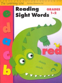 The Learning Line Reading Sight Words Grades 1-2