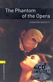 [NEW] Oxford Bookworms Library 1 The Phantom of the Opera with MP3 Pack [영국식 발음]