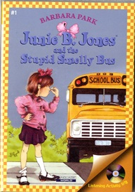 Junie B. Jones #01 and the Stupid Smelly Bus (Book+Audio CD)