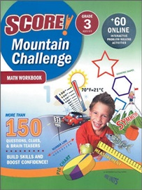 Score Mountain Challenge Math Workbook 3