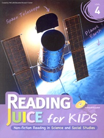 Reading Juice for Kids 4 Student's Book (with CD)