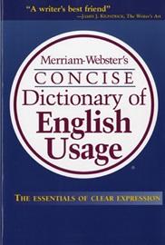 [행사]Merriam-Webster's Concise Dictionary of English Usage
