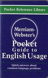 [행사]Merriam-Webster's Pocket Guide to English Usage