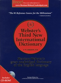 Merriam-Webster's New International Dictionary with CD-ROM [3rd Edtion]