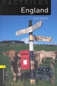 Oxford Bookworms Factfiles 1 England CD Pack