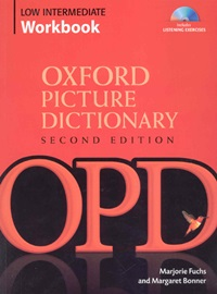 [NEW]Oxford Picture Dictionary Low Intermediate Workbook with Listening Exercise CD [2nd Edition]
