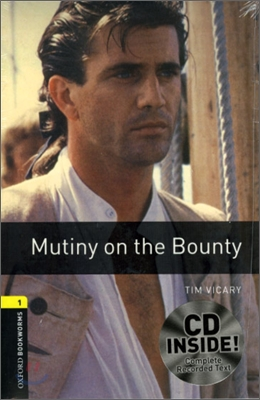 [NEW] Oxford Bookworms Library 1 Mutiny on the Bounty Pack (Book+CD) [영국식 발음]
