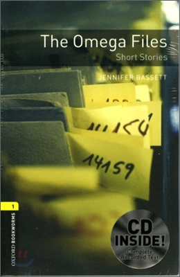 [NEW] Oxford Bookworms Library 1 The Omega Files - Short Stories Pack (Book+CD) [영국식 발음]