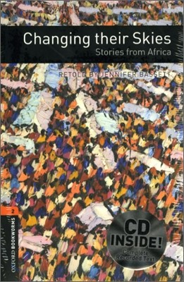 [NEW] Oxford Bookworms Library 2 Changing Their Skies Stories from Africa Pack (Book+CD) [영국식 발음]